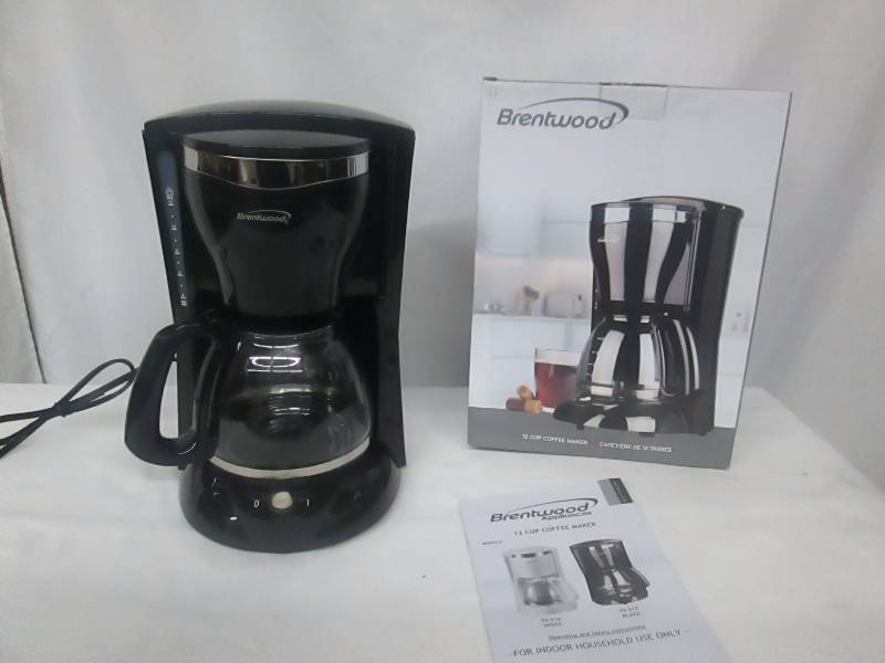 Brentwood 12 Cup Coffee Maker October High End Store