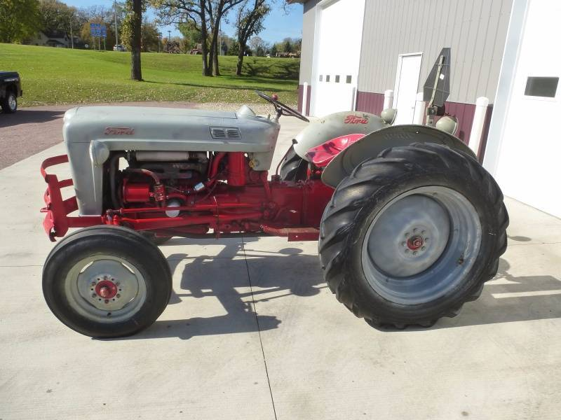 1953 Ford Golden Jubilee Tractor | NCS SUVs &1953 Ford ...