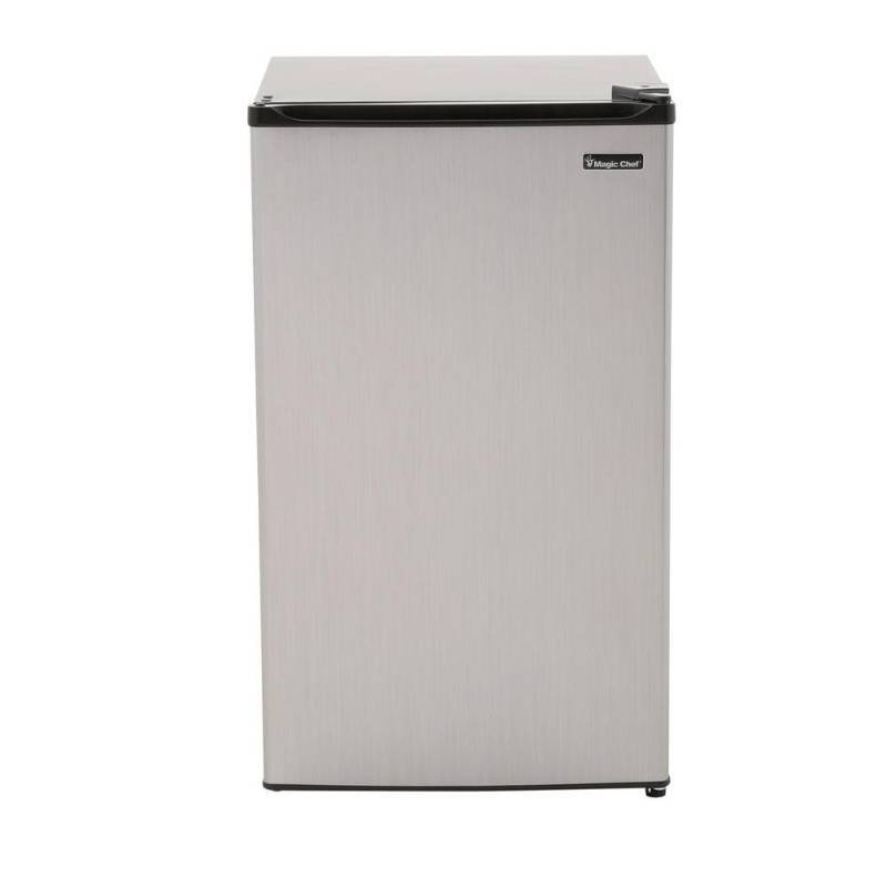Magic Chef 3 5 Cu Ft Mini Refrigerator In Stainless Look
