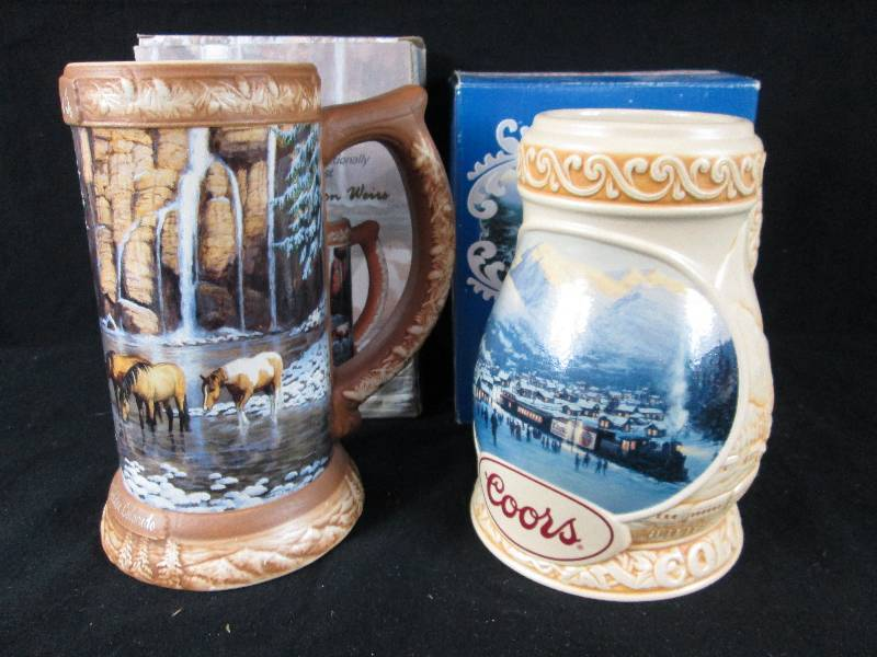 Foley Auction Part 6 Breweriana Decanters Nascar