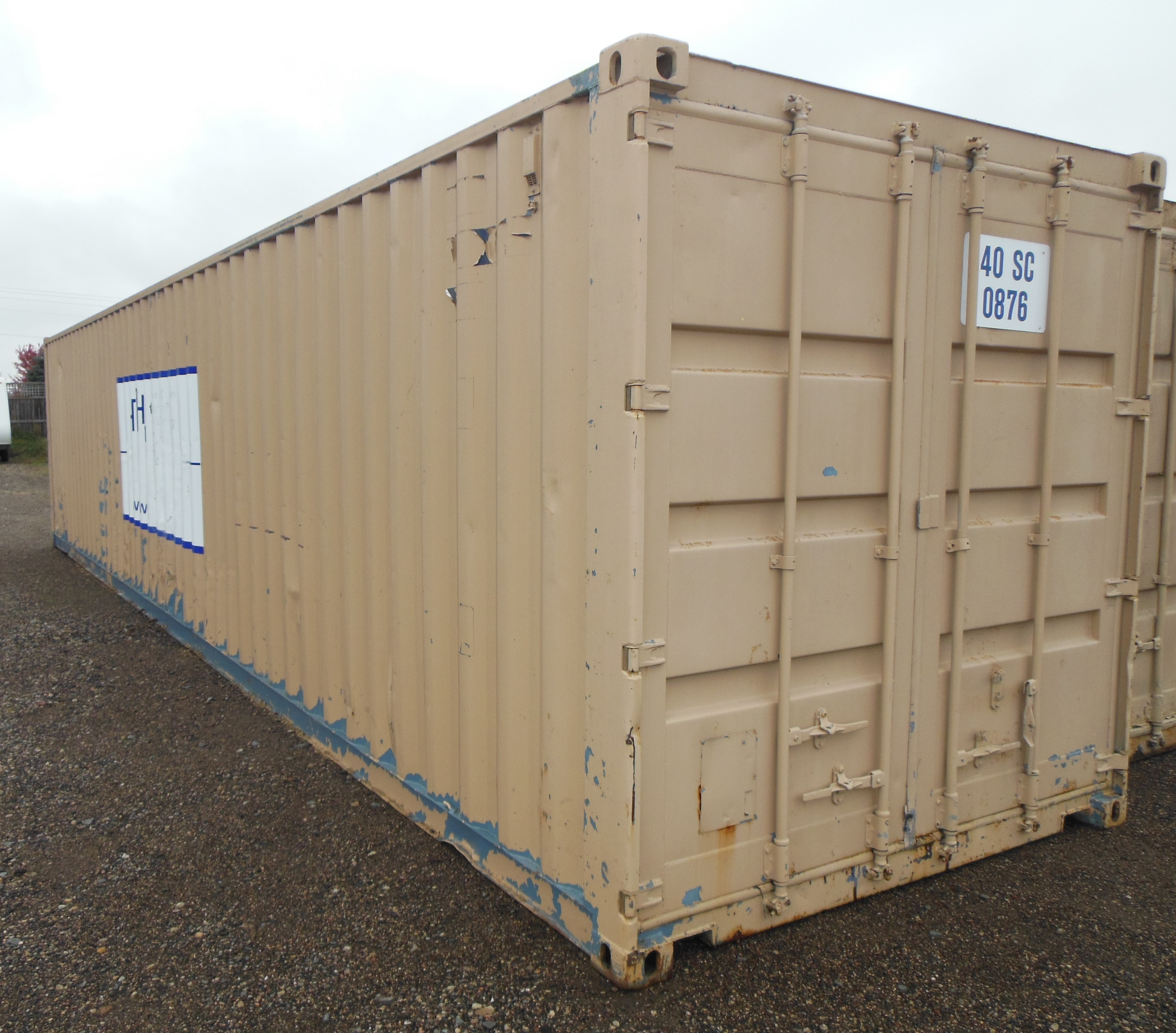 40' Steel Shipping Container / Storage Box / Sea Container ...