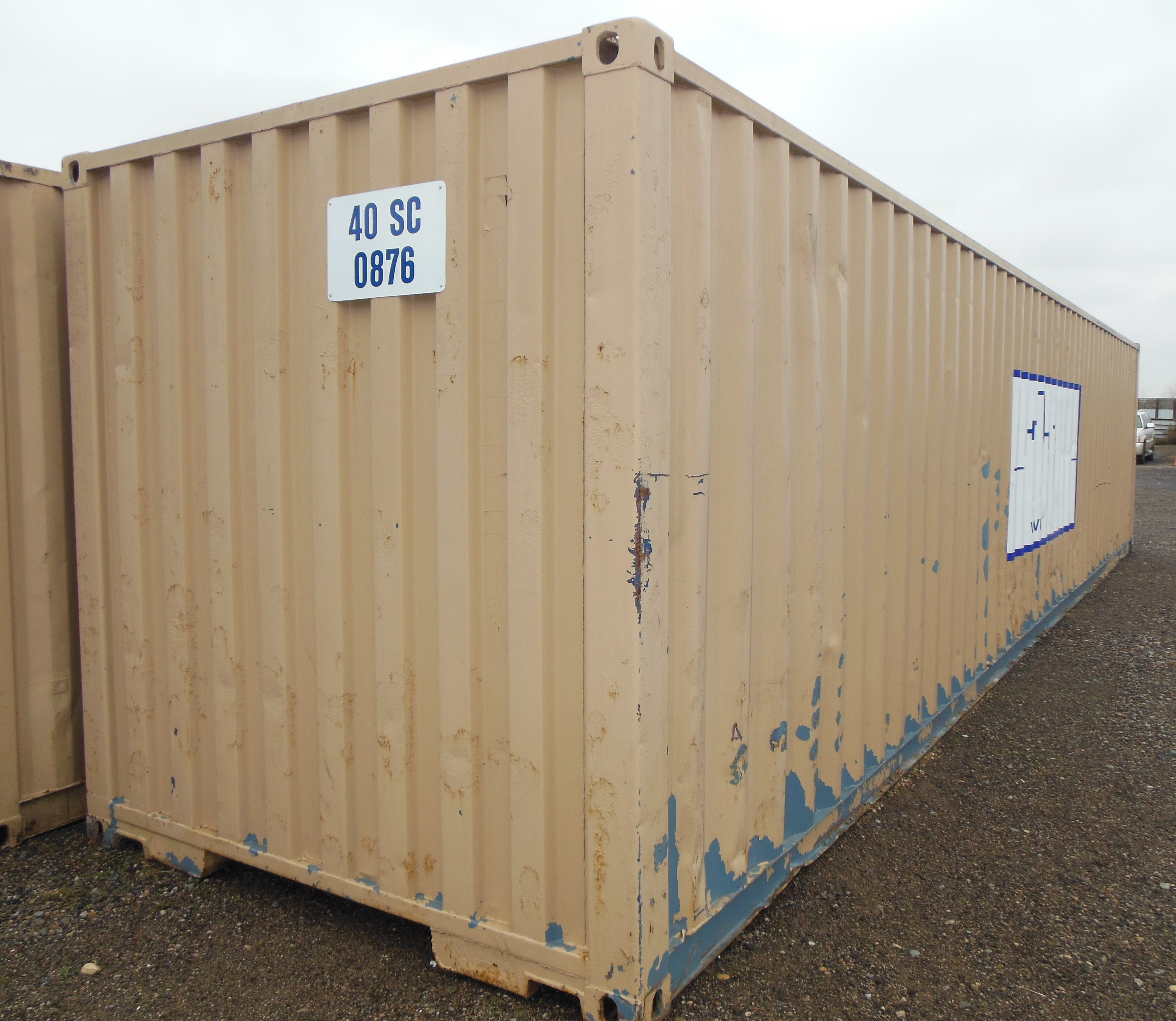 40 Steel Shipping Container Storage Box Sea Container