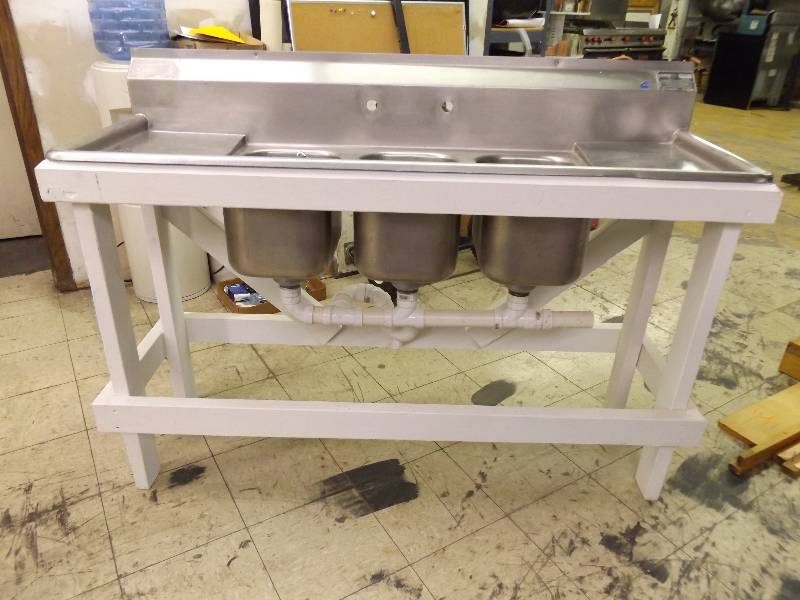 Stainless Commercial Sink | November Consignment Auction ...