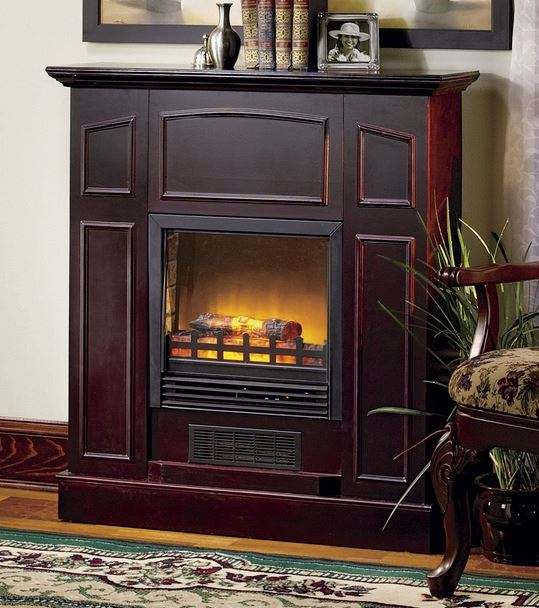 Alcove Franklin Electric Fireplace Heater With Mantel Half A Home 139 A Good Mix Auction K Bid