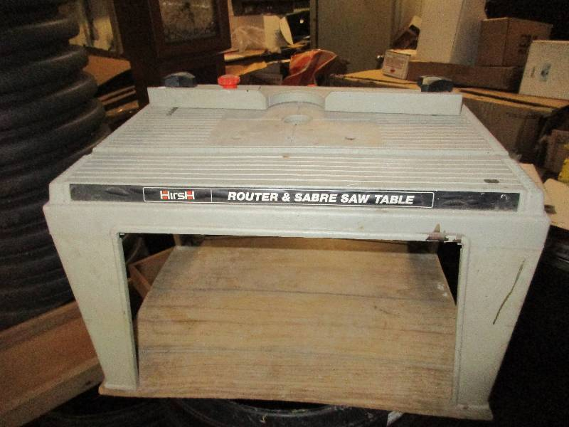 Pro tech 4106 table saw router table jig saw antique plainer november consignments k bid Pro tech table saw
