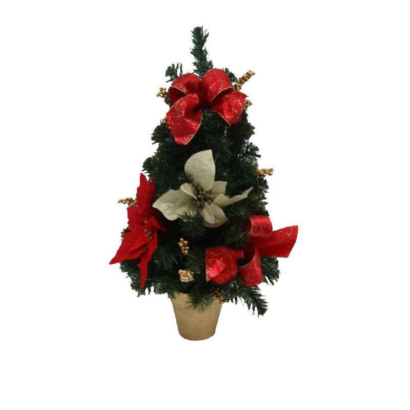 Home accents holiday 24 in unlit artificial red for Christmas tree items list