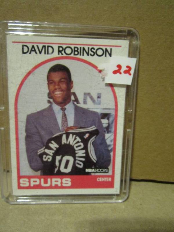 1989 90 Nba Hoops David Robinson Ro Sports Card