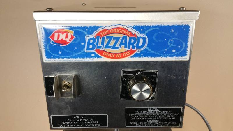 Dairy Queen Blizzard Malt Maker Flavor Mixer Dairy