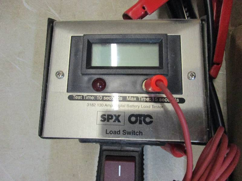 8 Volt Battery Load Tester : Craftsman volt drill and car battery load tester