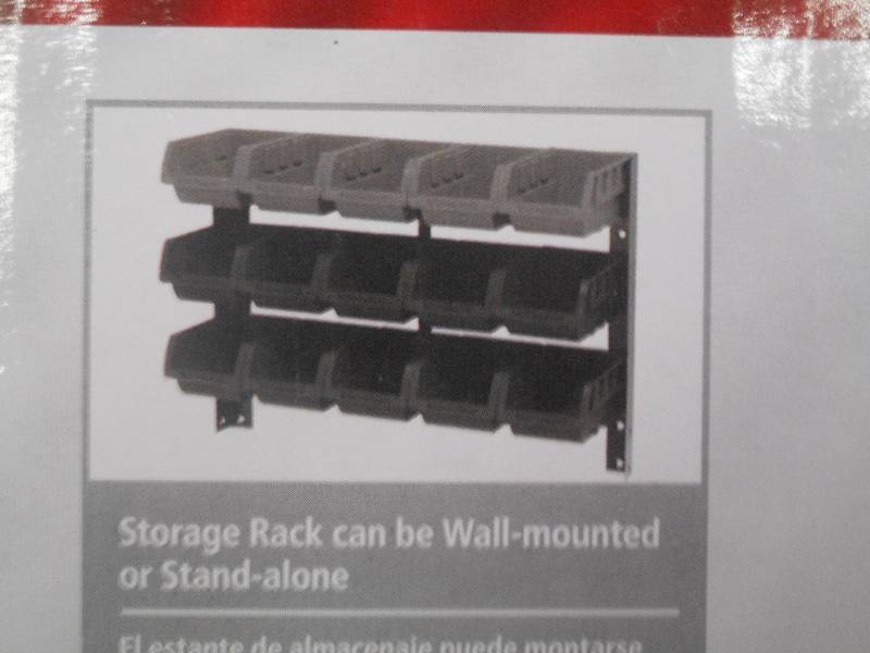 New Husky 15 Bin Storage Rack Le November & Husky Storage Rack - Listitdallas