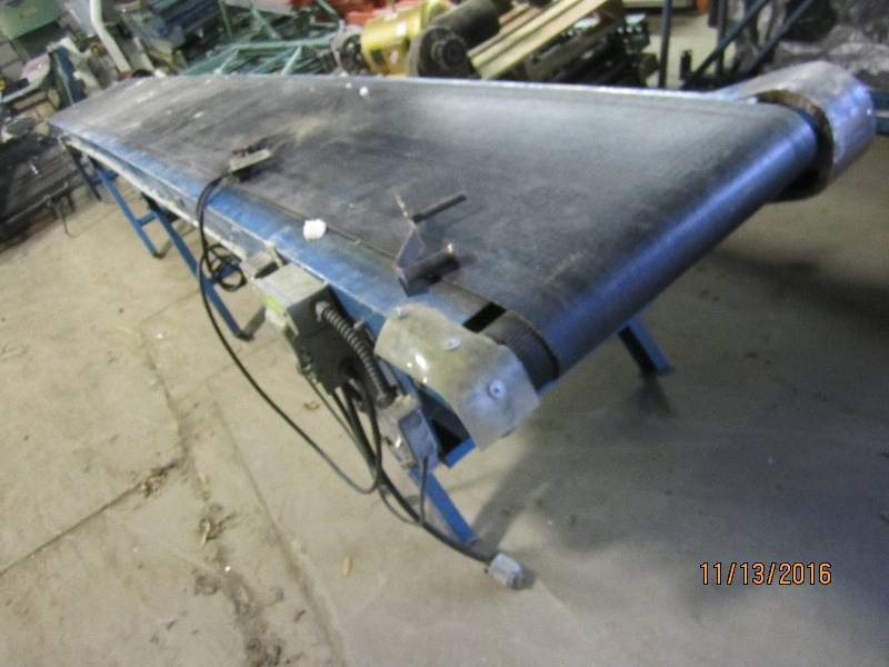 Electric motorized belt conveyor 1 conveyors fiber Motorized conveyor belt