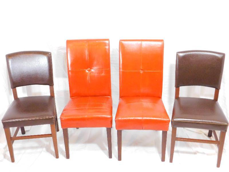 4 pier 1 imports leather dining room chairs pier 1