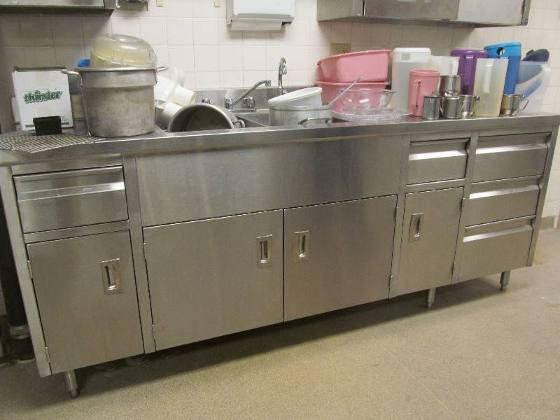 Stainless steel base cupboard jax of benson sale 577 for S f furniture willmar mn