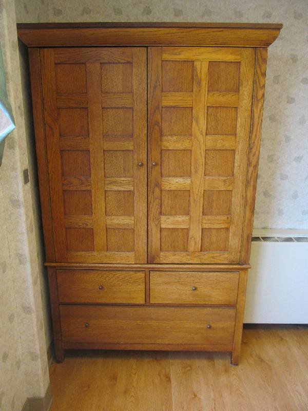 Pantry hutch jax of benson sale 577 k bid for S f furniture willmar mn