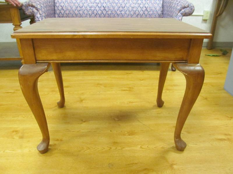 End table jax of benson sale 577 k bid for S f furniture willmar mn