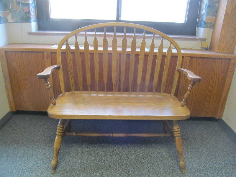 Bench jax of benson sale 577 k bid for S f furniture willmar mn