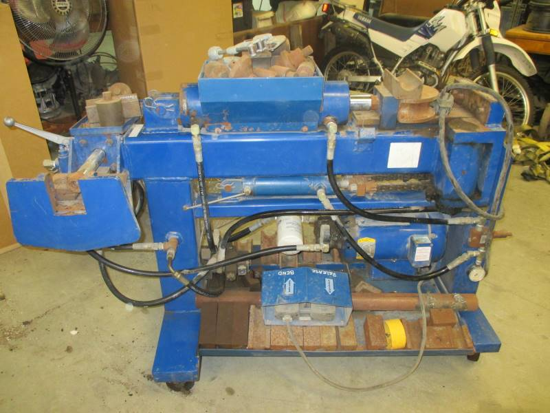 Exhaust Tubing Bender >> Exhaust Tubing Bender Surplus Automotive Shop Equipment