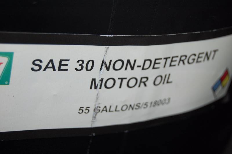 55 Gallon Drum Of Non Detergent Motor Oil Sae 30
