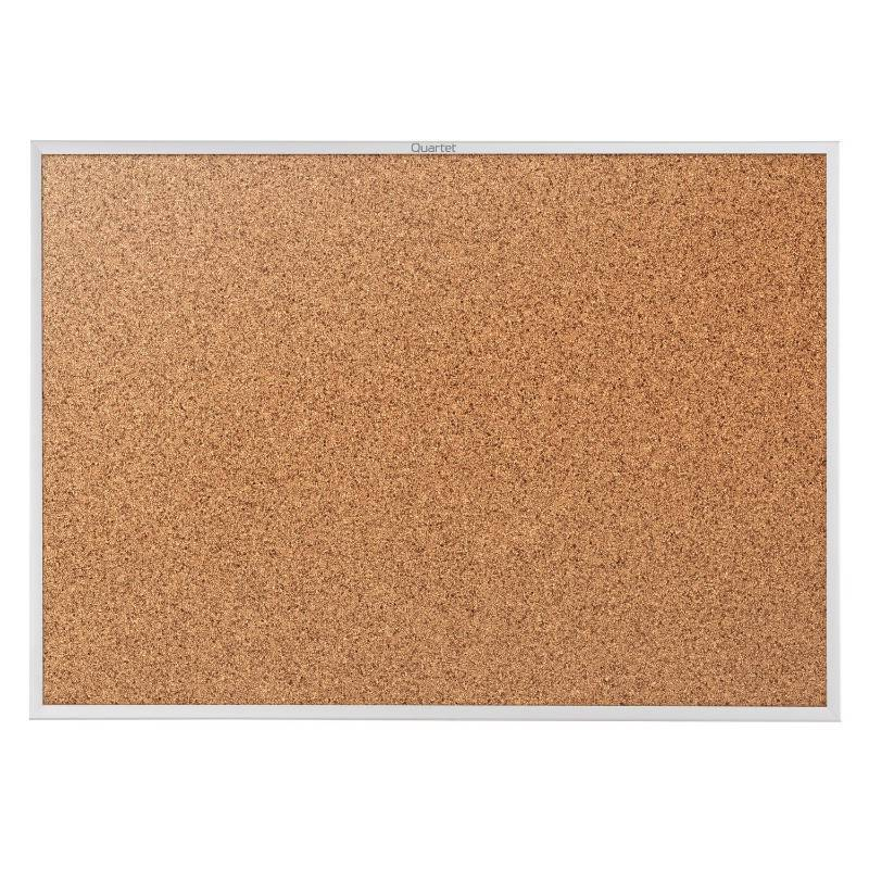 Quartet Cork Bulletin Board 5 X 3 Feet Corkboard
