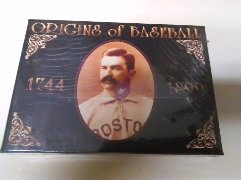 Baseball Cards Origins Of Baseball 1744 1899 Nib Coa New
