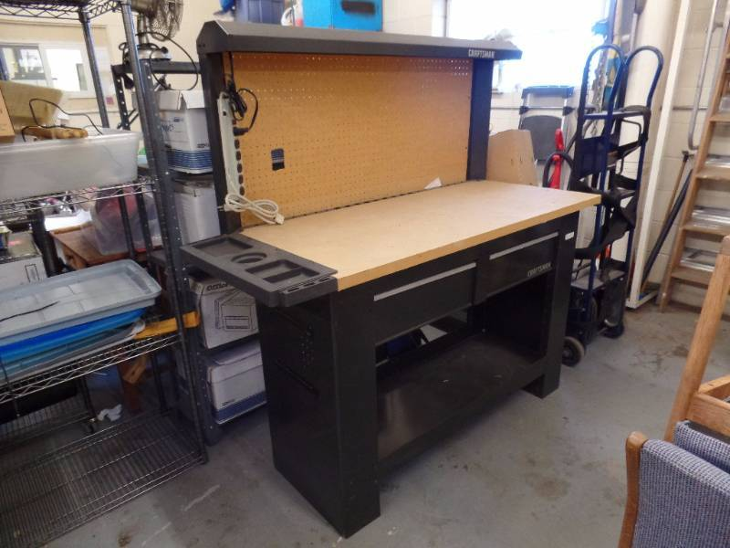 Craftsman workbench kan and consignments k bid for Craftsman workshop