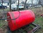 265 Gallon Fuel Storage Tank on a Stand