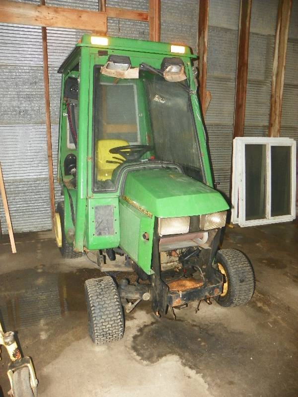 Tractor Yard Garden North Dakota : Snow removal equipment auction in grand forks north