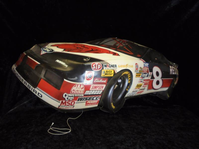 Lighted #8, Kenny Wallace Sign, 44x19 | NASCAR & Other Collectibles ...