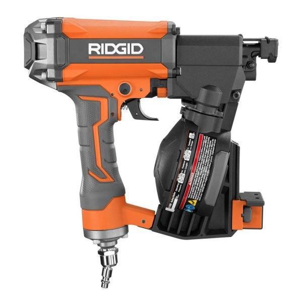 Ridgid Coil Roofing Nailer R175rnf Never Used Kx Real