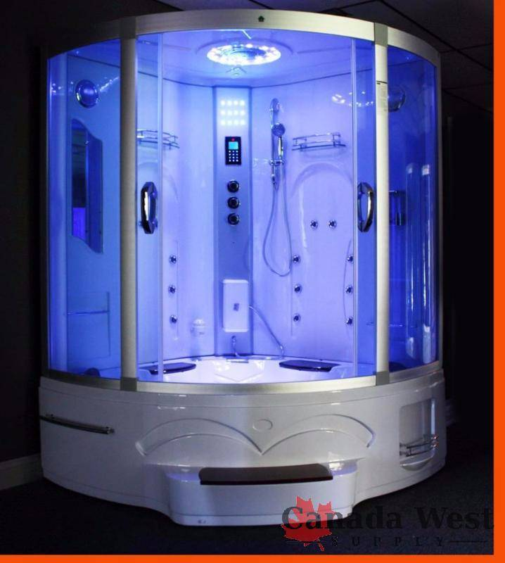 NEW 2016 PURE STEAM & BATH WHIRLPOOL JACUZZI & STEAM SHOWER GT0514 ...