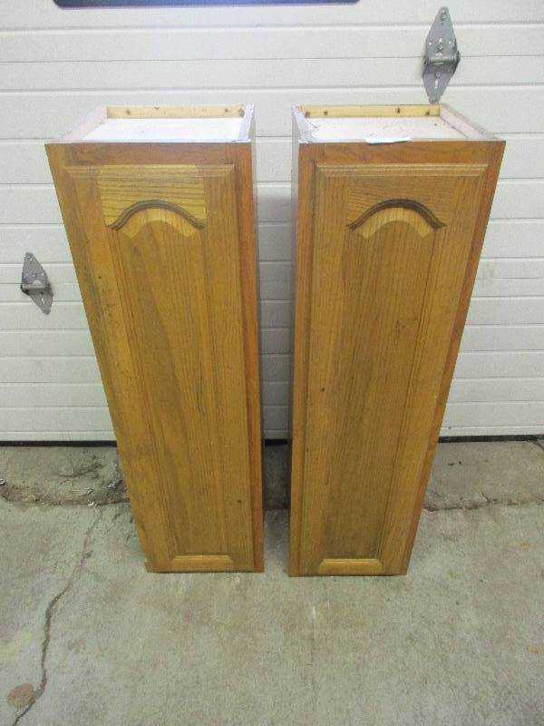 Ft tall wood cabinets december consignments k bid