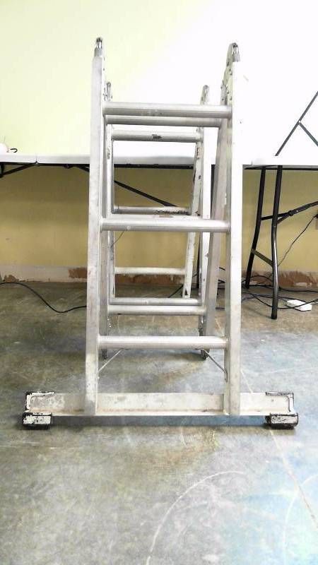 Keller 12 Folding Aluminum Ladder Electronics Sports
