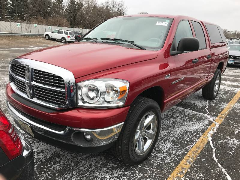 2007 dodge ram 1500 4x4 hemi big horn edition car truck suv auction 88 k bid. Black Bedroom Furniture Sets. Home Design Ideas