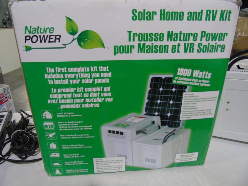 Nature Power Solar Home Amp Rv Power Kit 1 800 Watts With