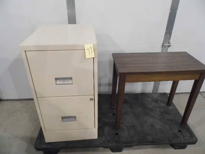 File Cabinet Piano Bench December 4 Consignment Estate K Bid