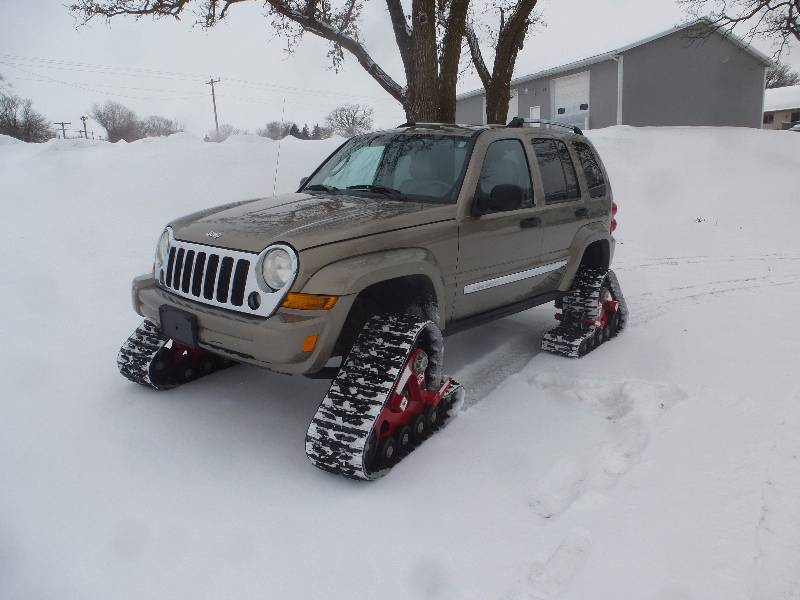 2006 jeep liberty 4wd mattrack machine | ncs track machine & suvs