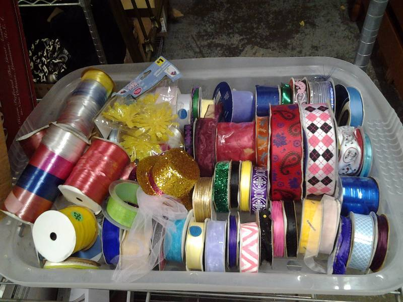 Large Lot Of Ribbon