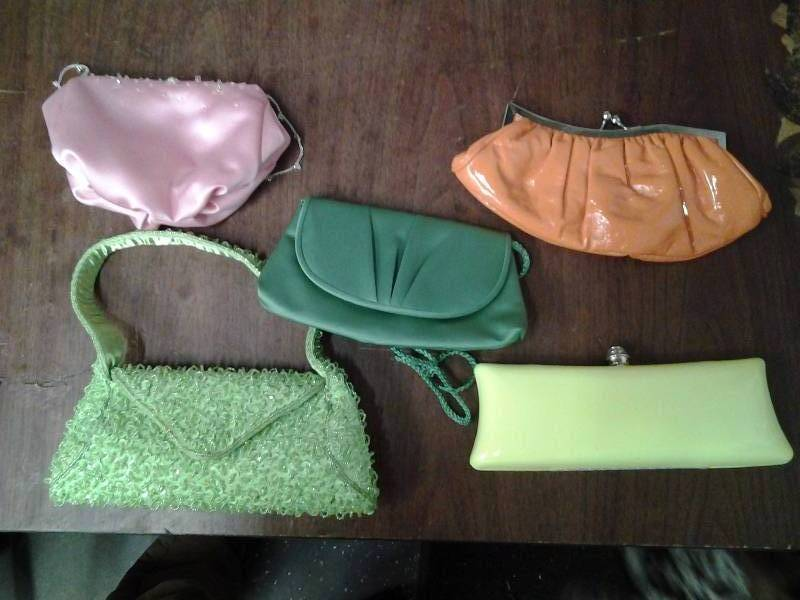 5 Assorted Clutches