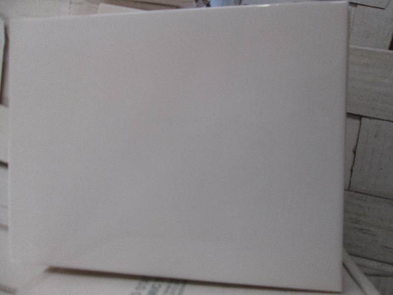X Snow White Wall Tile Sqftbox Window Blinds Tile Trim - 6x8 white wall tile