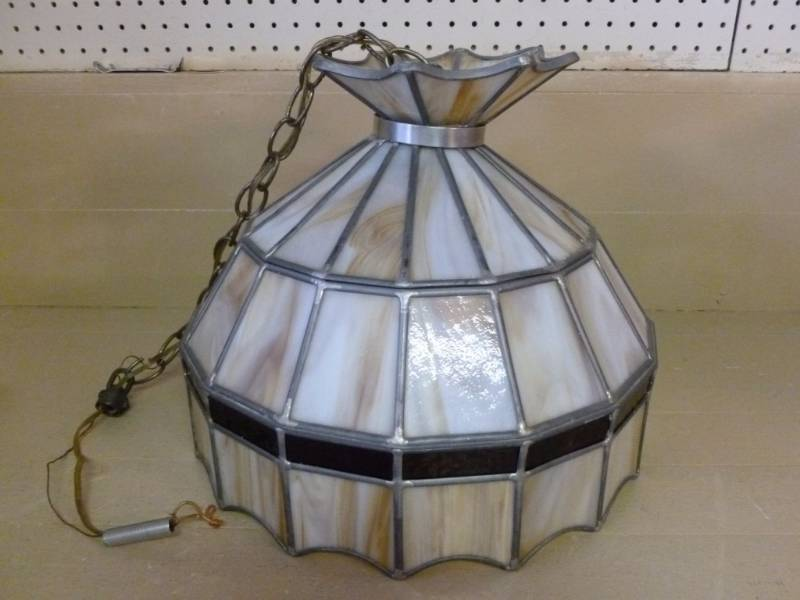 Leaded Glass Light