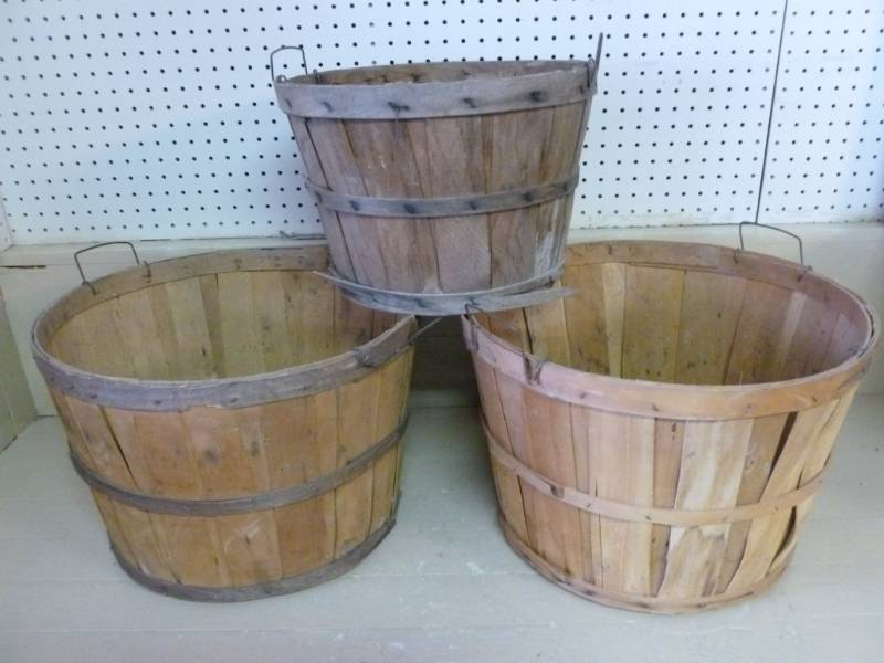 Vintage Bushel Baskets