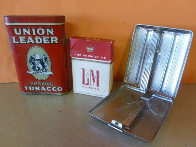 Vintage Tobacco Can