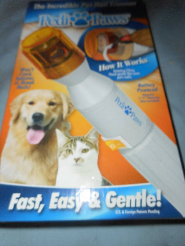 PEDI PAWS NAIL TRIMMER