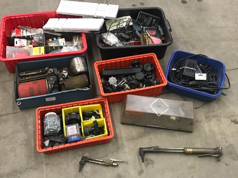(6) Trays Of Assorted: Hardware & S...