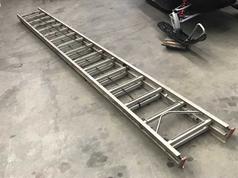 Sears 32ft Aluminum Extension Ladde...