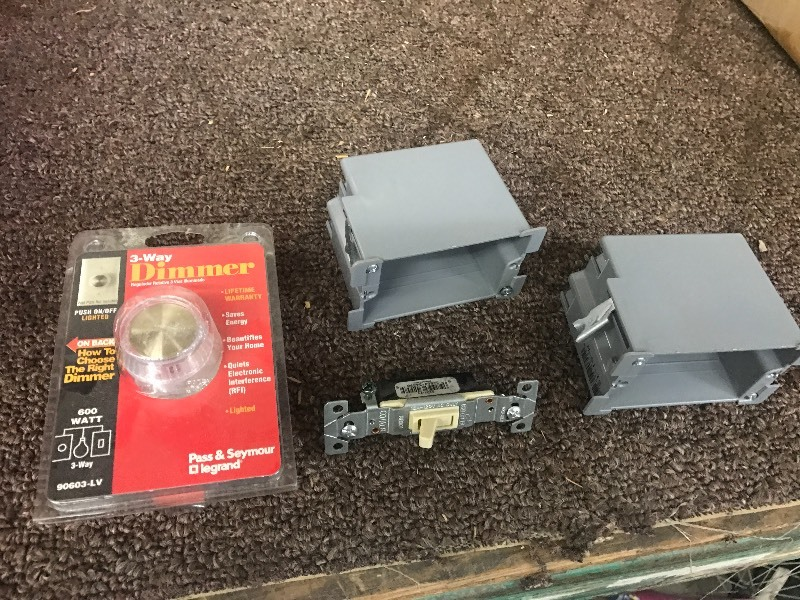 Lot Of: (2) Electrical Boxes, (1) L...