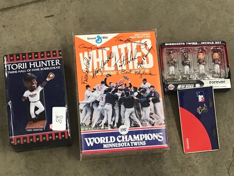 Lot Of New MN Twins Collectibles/Me...