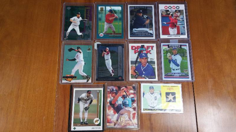 Group of 11 Star Rookie Baseball Cards