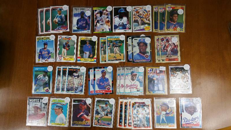 Large Group of Stars Dwight Gooden, Griffey Jr, Gant, Etc.