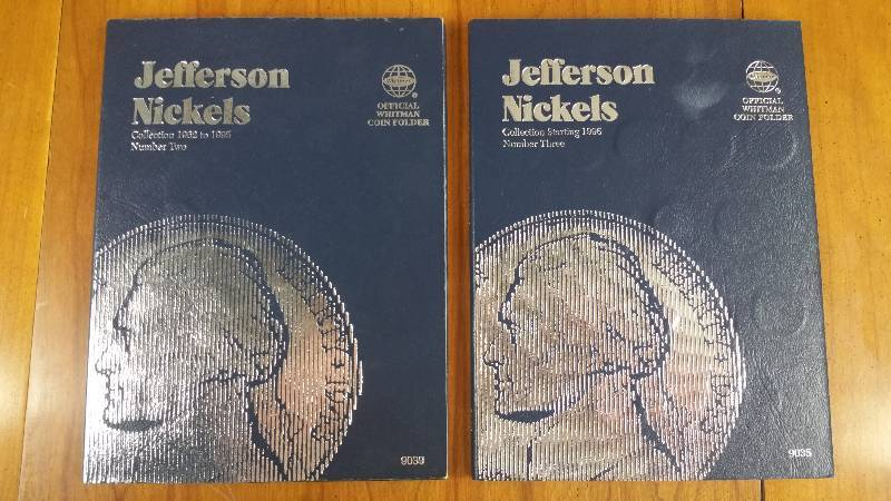1962 - Current Jefferson Nickels in Whitman Books